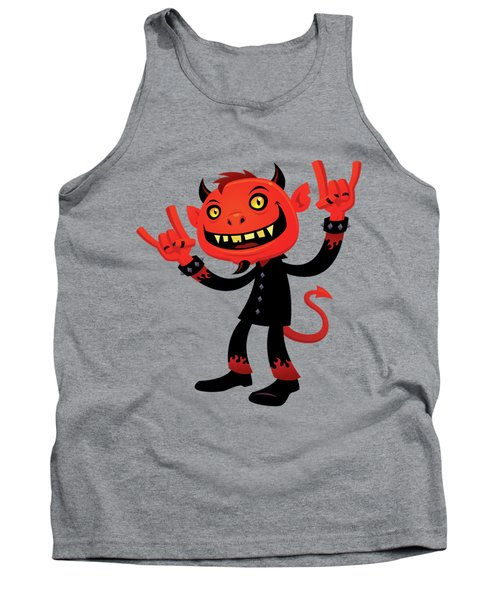 Heavy Metal Devil Tank Top