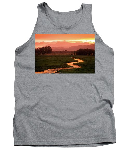 Heber Valley Golden Sunset Tank Top