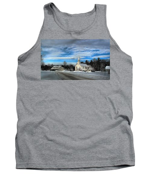 New Snow On Hebron Common Tank Top