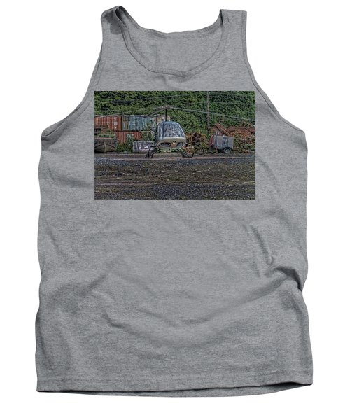 Tank Top featuring the photograph Help 4 by Timothy Latta