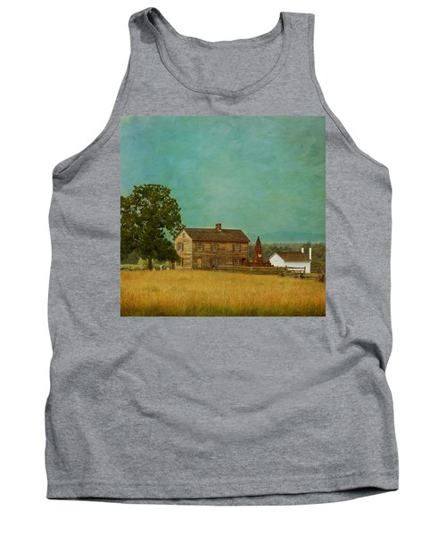 Henry House At Manassas Battlefield Park Tank Top