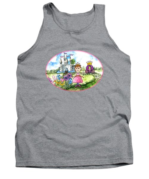Her Royal Princess Tank Top by Shelley Wallace Ylst