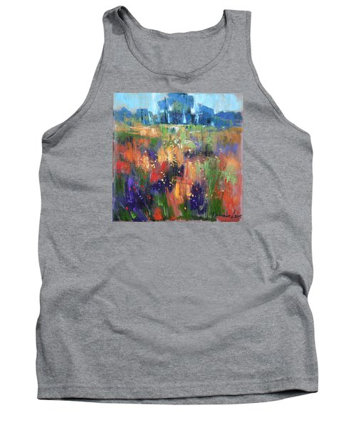 Tank Top featuring the painting Herbs by Anastasija Kraineva