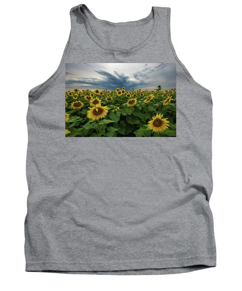 Here Comes The Sun Tank Top by Aaron J Groen