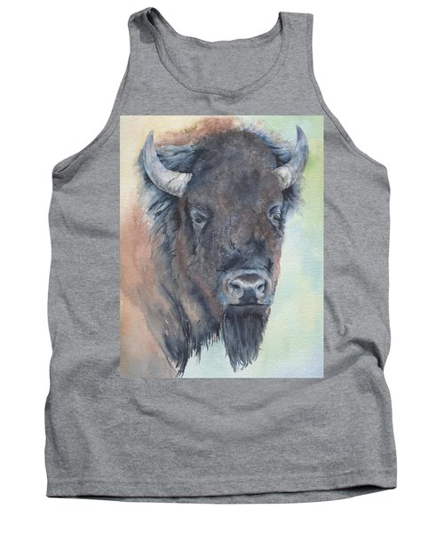 Here's Looking At You - Bison Tank Top