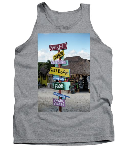 Here's What's Here 1 Tank Top