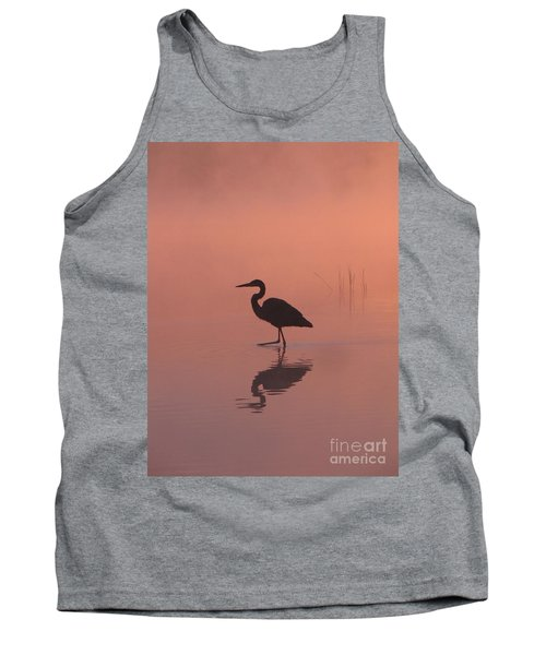 Heron Collection 1 Tank Top by Melissa Stoudt