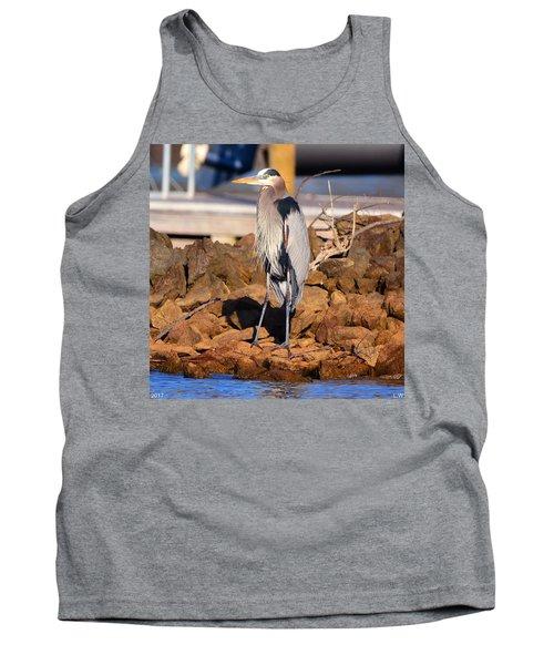 Heron On The Rocks Tank Top