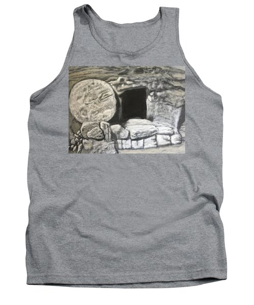 Tank Top featuring the painting He's Not Here by Antonio Romero