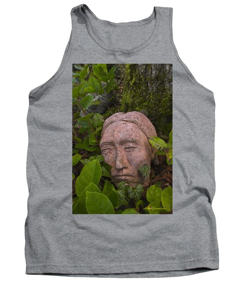 Hiding Signed Tank Top