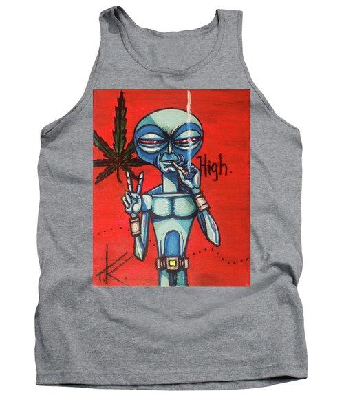 High Alien Tank Top