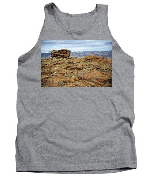 High Desert Cairn Tank Top by Eric Nielsen