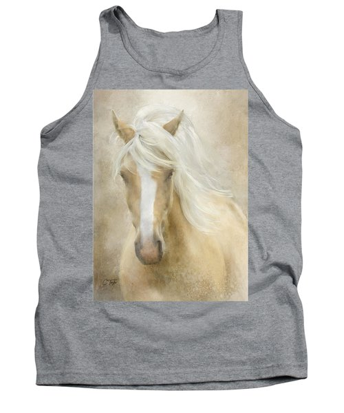 Tank Top featuring the painting Spun Sugar by Colleen Taylor