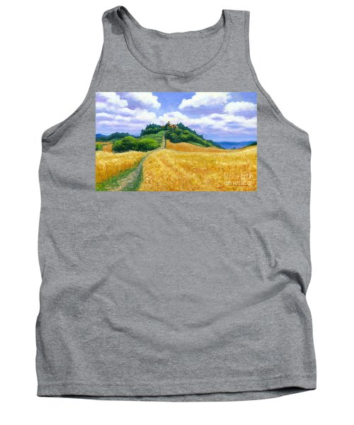 High Noon Tuscany  Tank Top by Michael Swanson