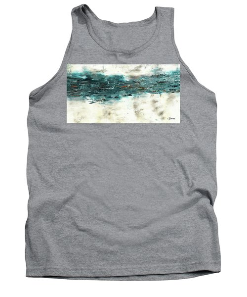 Tank Top featuring the painting High Tide by Carmen Guedez