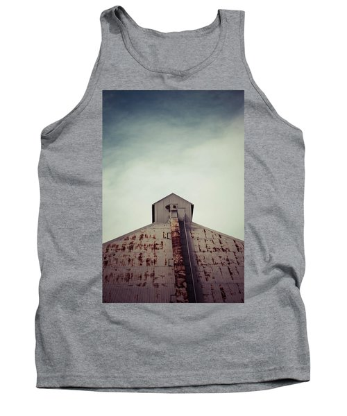 Tank Top featuring the photograph High View by Trish Mistric