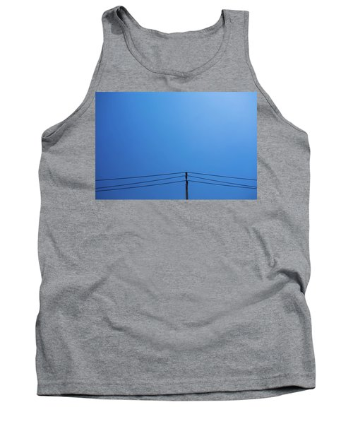 High Voltage Power, Electric Pose Tank Top