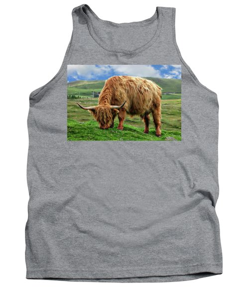 Highland Cow Tank Top