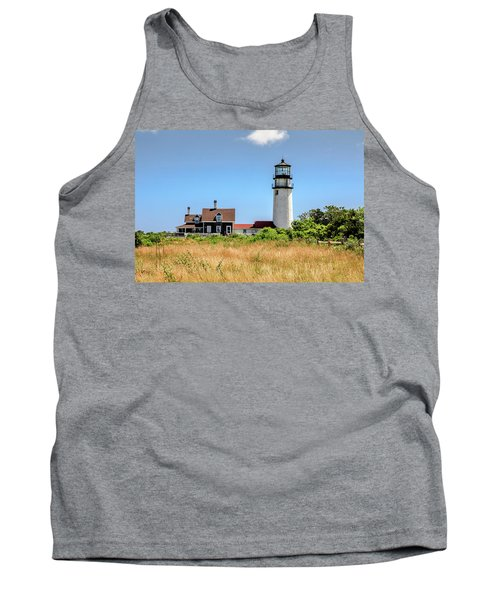 Tank Top featuring the photograph Highland Light - Cape Cod by Peter Ciro