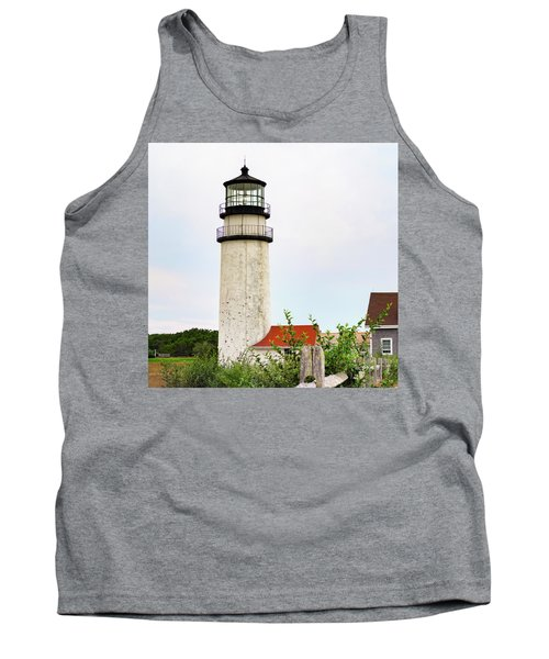 Tank Top featuring the photograph Highland Lighthouse II by Marianne Campolongo
