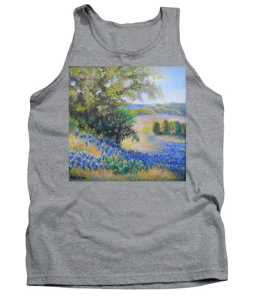 Hill Country View Tank Top by Patti Gordon