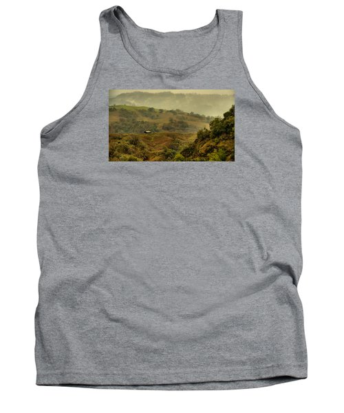 Hills Above Anderson Valley Tank Top by Josephine Buschman