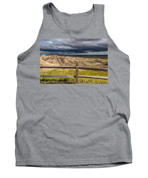 Hills Behind The Fence Tank Top