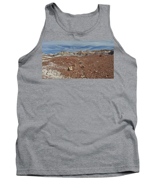 Tank Top featuring the photograph Hillside Hues by Gary Kaylor