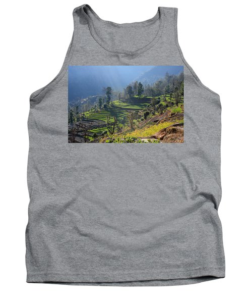 Himalayan Stepped Fields - Nepal Tank Top