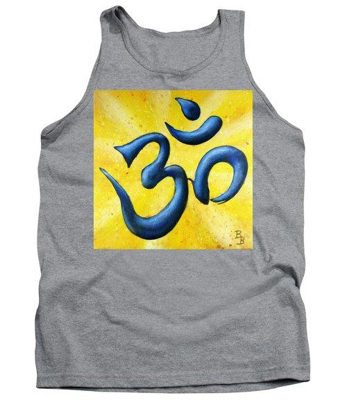 Hindu Om Symbol Art Tank Top