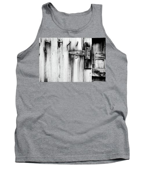 Hinged In Black And White Tank Top