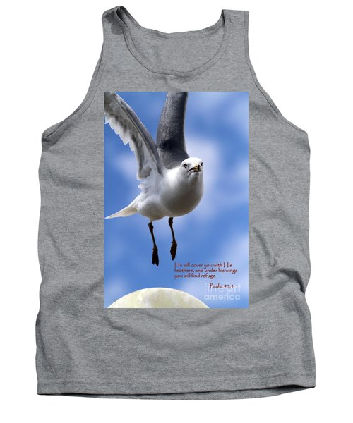 His Feathers Tank Top
