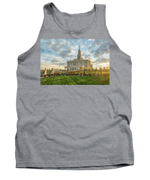 Tank Top featuring the photograph His Light by Dustin  LeFevre