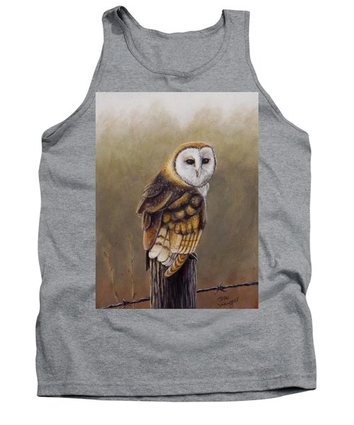 Tank Top featuring the painting His Majesty Sits by Dan Wagner