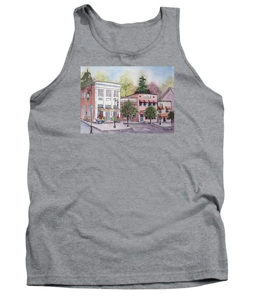 Historic Blue Ridge, Georgia Tank Top