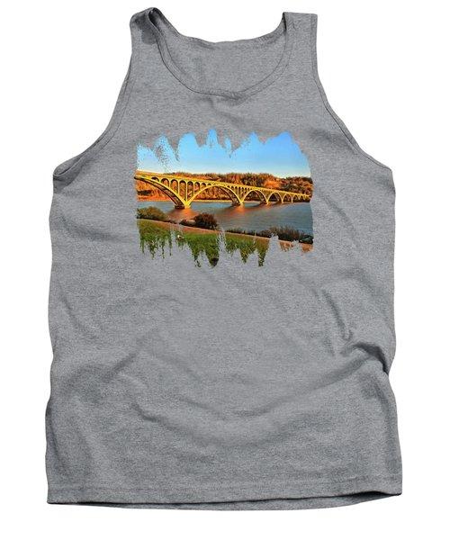 Historic Patterson Bridge Gold Beach Tank Top