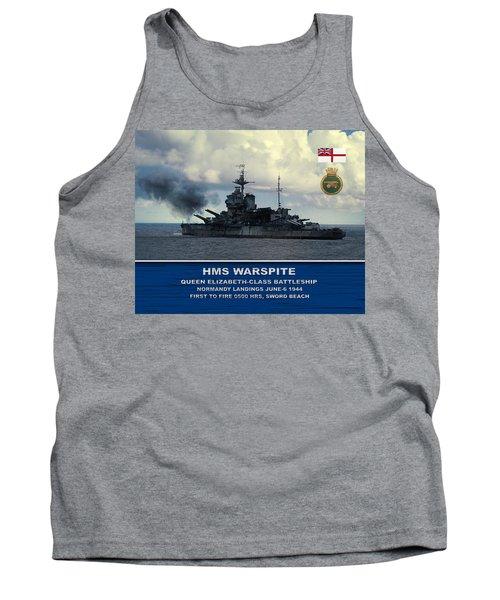 Hms Warspite Tank Top