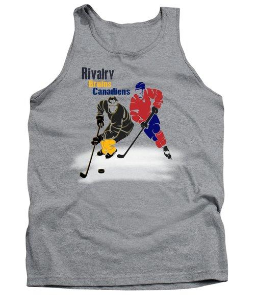 Hockey Rivalry Bruins Canadiens Shirt Tank Top