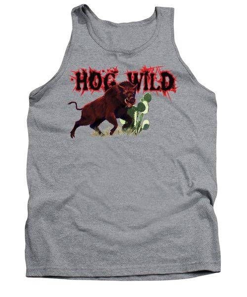 Hog Wild Tee Tank Top by Rob Corsetti