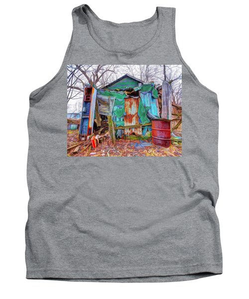 Holding On To Reality Tank Top