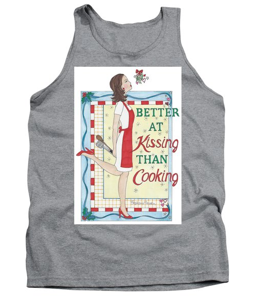 Holiday Kissing Cooking Tank Top