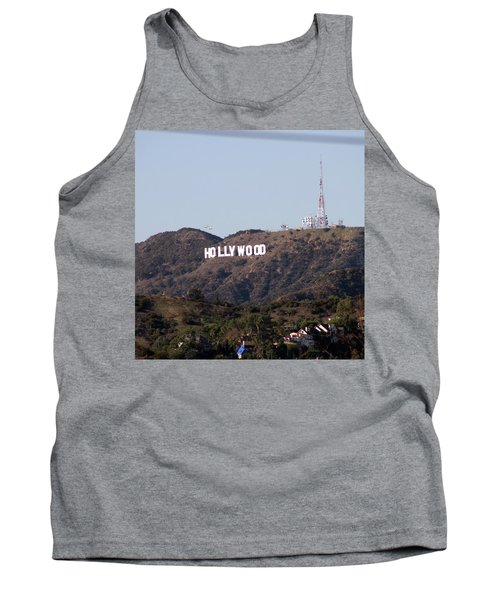 Hollywood And Helicopters Tank Top