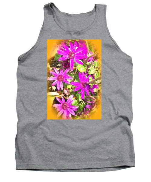 Hollywood Flower Stars Tank Top