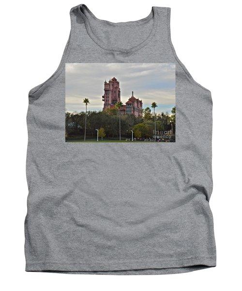 Hollywood Studios Tower Of Terror Tank Top by Carol  Bradley