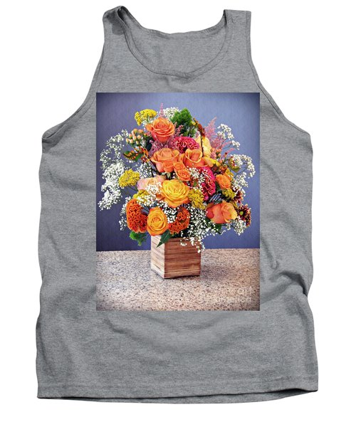 Tank Top featuring the photograph Holy Week Flowers 2017 by Sarah Loft