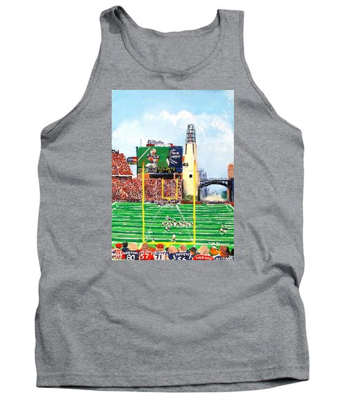 Tank Top featuring the painting Home Of The Pats by Jack Skinner