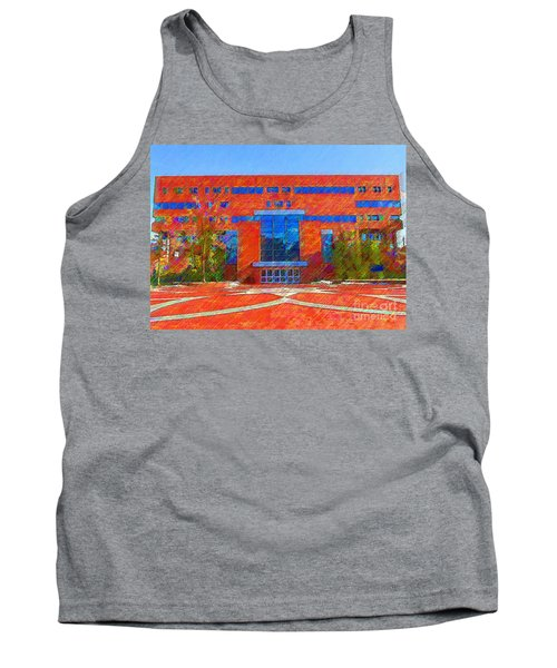 Homer Library Tank Top