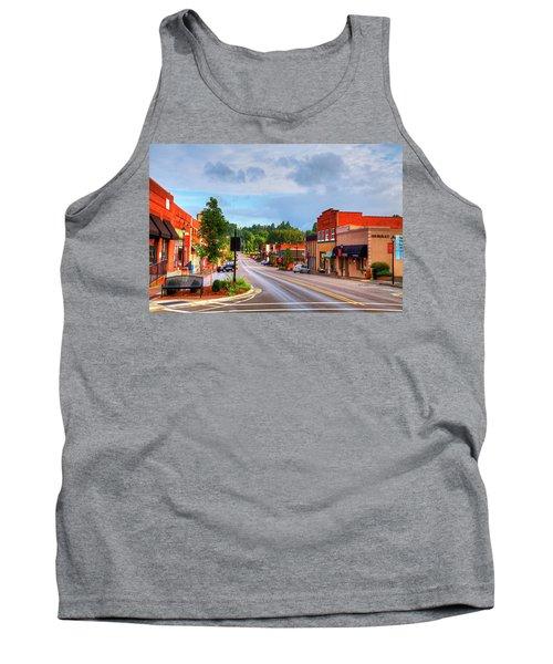 Hometown America Tank Top by Dale R Carlson
