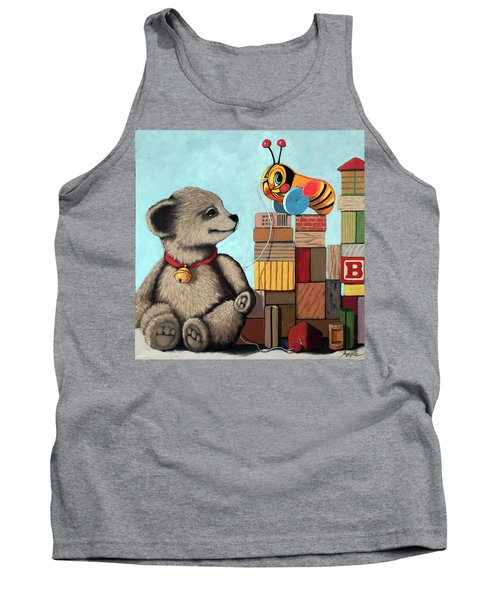 Honey Bear - Vintage Toys Tank Top