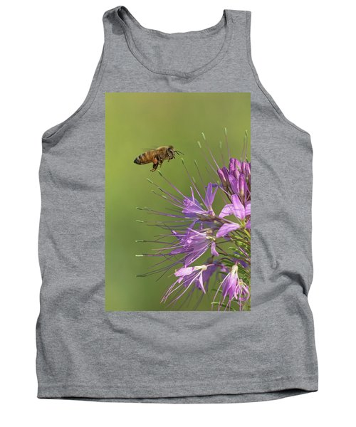 Honey Bee At Work Tank Top
